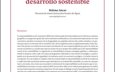 Las empresas españolas como motores del desarrollo sostenible
