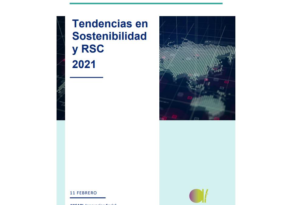 Tendencias en RSC y Sostenibilidad 2021- ANSARI
